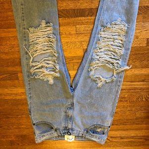 ONE by OneTeaspoon Super Baggies boyfriend jeans